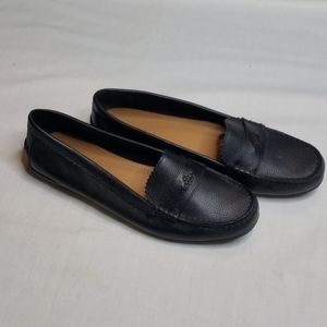 Black Coach Odette Loafers
